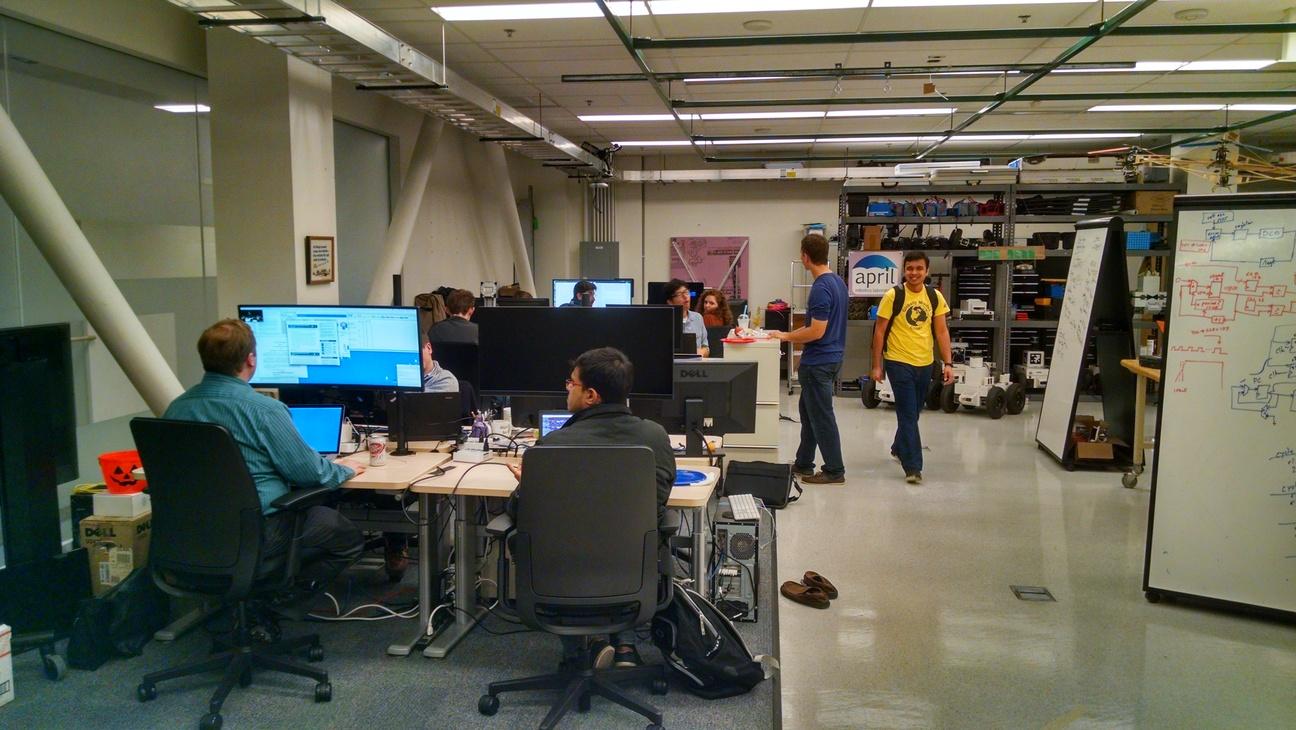 April Laboratory April Laboratory Autonomy Perception Robotics