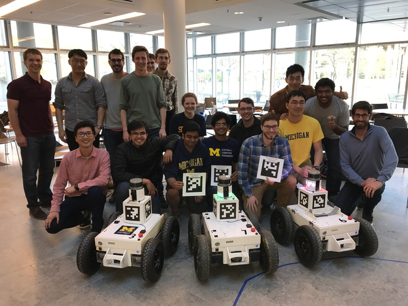 First Annual Robot Race Hosted at APRIL